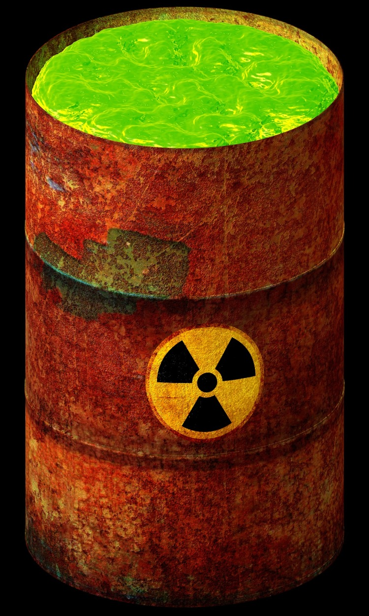 Nuclear Waste from Pixabay